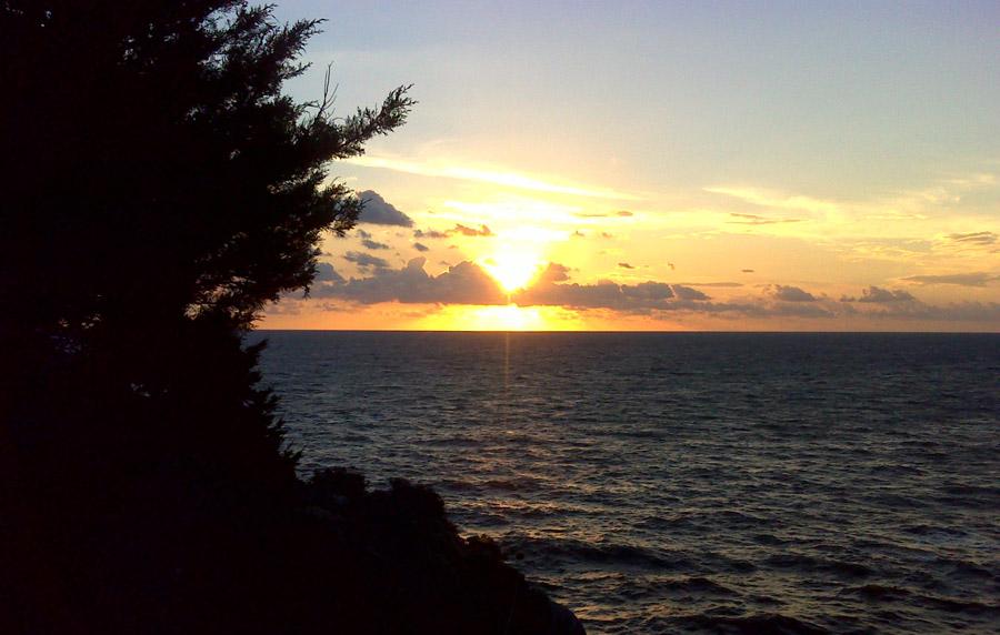 Vidusjūras saulriets